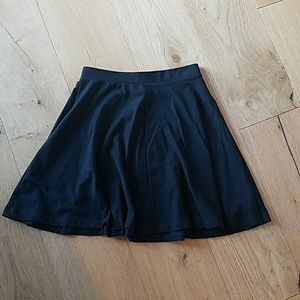 Topshop size US 4 black skater skirt